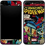 Skinit Decal Phone Skin Compatible with iPhone 7 Plus - Officially Licensed Marvel/Disney Marvel Comics Spiderman Design