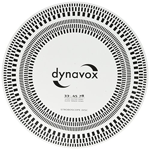 DynaVox Tonabnehmer-Einstelllehre/Stroboskop-Scheibe