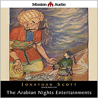 The Arabian Nights Entertainment audiobook cover art