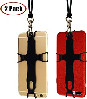 TOOVREN Cell Phone Lanyard iPhone Neck Strap Holder Phone Case Carrier with Detachable Lanyard for Samsung Note 10 Galaxy S9/S8+/A60 iPhone 11 Pro Max X Xs Max XR 8 7 Plus/LG/Google Pixel(2 pcs)