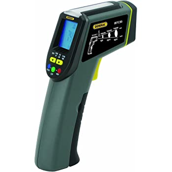 Amazon Com General Tools Instruments Irtc50 Infrared Thermometer Energy Audit Star Burst 8 1 Home Improvement