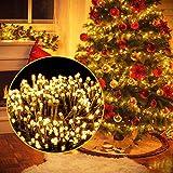 Luces Navidad Exterior, Ulinek 2000LED 50M Guirnalda Luces LED Habitacion [2020 Versión Mejorada]IP44 8 Modos Luce Cadena Luz LED Decoracion para Habitacion Interior Jardin Arbol Navidad Fiesta Bodas