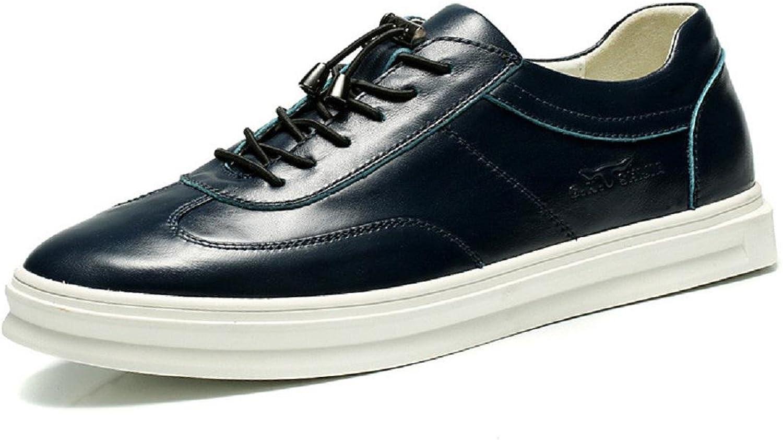 Herren Lederschuhe Lssige Schuhe Atmungsaktiv Freizeitschuhe Mode Flache Schuhe Schuhe erhhen EUR GRSSE 38-44