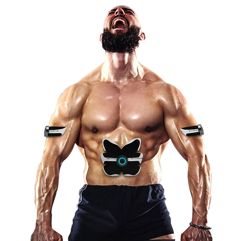 スマートabsトレーニングギア女性男性減量痩身ボディシェイパー腹部筋肉運動刺激装置フィットネス振動機