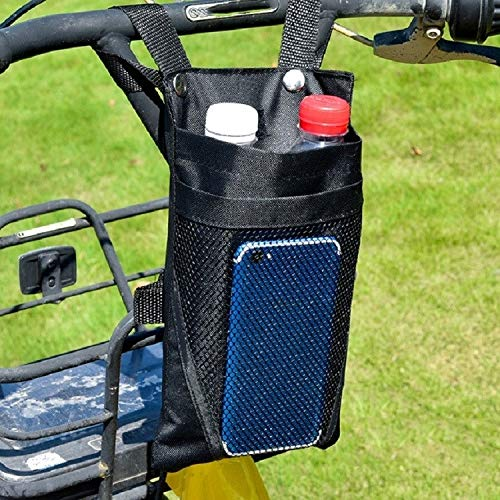 Accesorios para Bicicletas Bolsa de Almacenamiento de Motocicleta eléctrica Pequeña Bolsa de Almacenamiento de la manija Frontal de la Bicicleta, Color: Grande Negro, Zhongxianshangmaoyouxiangongsi
