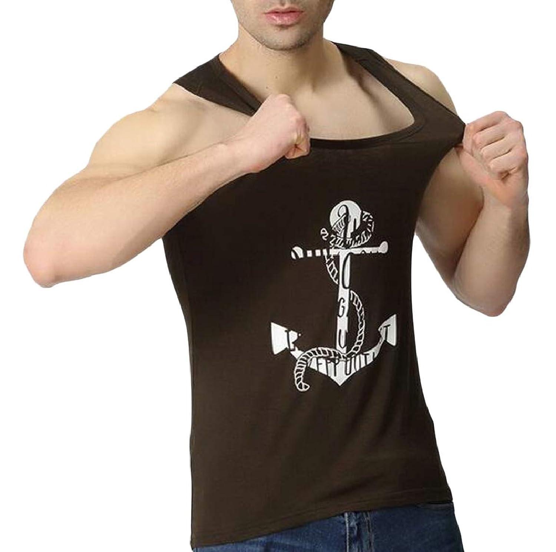 Keaac メンズジムタンクトップス圧縮ノースリーブシャツ筋肉快適性