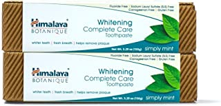 Himalaya Botanique Complete Care Whitening Toothpaste, Simply Mint, for a Clean Mouth, Whiter Teeth and Fresh Breath, 5.29...