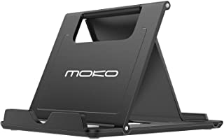 MoKo Phone/Tablet Stand, Foldable Desktop Holder Fit with iPhone 11 Pro Max/11 Pro/11, iPhone Xs/Xs Max/Xr, iPhone SE, iPa...