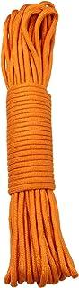 15 m / 50 FT - 4 mm Parachute Cord Seil mit 7 Strängen verschiedene Farben Schnur Fallschirmschnur Schnüre Allzweck Reepschnur Tau Bundeswehr, Survival, Bootsport, Sport, Camping, Segeln, Angeln, Fischen, Wandern reißfest Parachute Cord 550lbs NICHT ZUM KLETTERN GEEIGNET Orange, 15m / 50FT