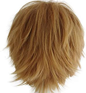 Probeauty Unisex Basic Short Hair Wig/Wigs Cosplay Party+Wig Cap
