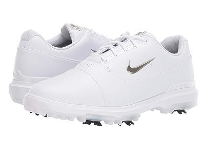 Nike Golf Air Zoom Victory Pro (White/Metallic Pewter/White/Vast Grey) Men