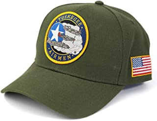 Tuskegee Airmen 332nd Fighter Group Cap Olive Green