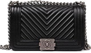 96265f9358655 Macton femme cuir épaule sac Messenger polyvalent carrière de sac à main en  peau de mouton