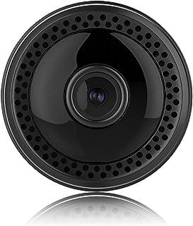 【4K高画質 広角150°】小型カメラ 隠しカメラ WiFi 監視カメラ Wifi対応 遠隔操作 スパイカメラ 防犯カメラ 長時間録画 バイクに取り付け可能 スマホ対応 屋外 赤外線暗視 動体検知 IOS/Android対応 日本語取扱説明書付