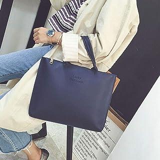 Wultia - Bags for Women Fashion Women Leather Handbag Single Shoulder Messenger Phone Bag Bolsa Feminina Blue