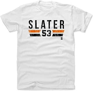 500 LEVEL Austin Slater Shirt - San Francisco Baseball Men's Apparel - Austin Slater San Francisco Font