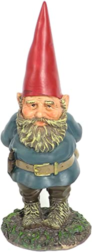 lowest Sunnydaze Garden Gnome Gus The Original, high quality Outdoor Lawn Statue, 9.5 Inch discount Tall outlet sale