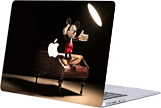 AJYX MacBook Air 13 inch Case 2018 Release A1932, Anime Series Plastic Hard Case Laptop Shell Cover for MacBook Air 13 inch with Retina Display - JR137 Disney Mickey