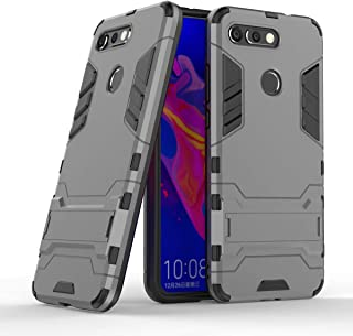 Honor View 20 / Honor V20 Case, CaseExpert Shockproof Rugged Impact Armor Slim Hybrid Kickstand Protective Cover Case for Huawei Honor View 20 / Honor V20 Grey 201890305SEW051