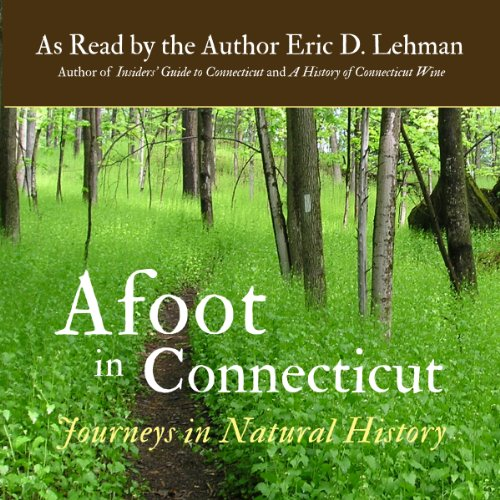 Afoot in Connecticut audiobook cover art