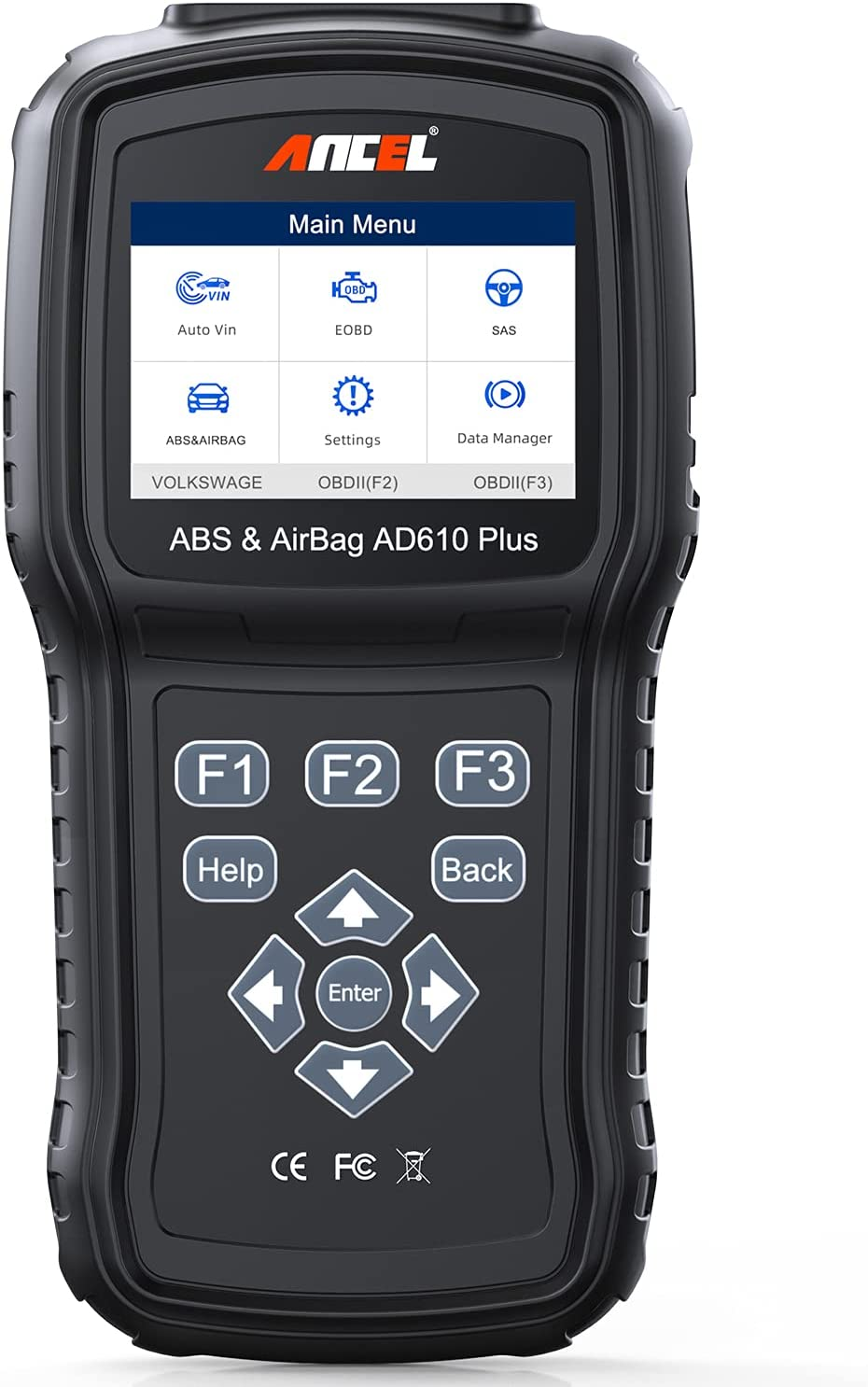 ANCEL AD610 Plus+ OBDII Scanner ABS Tool SRS Airbag depot Reset Scan Large special price !!