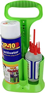 FastCap 2P-10CADDY with 2P-10 Thick Glue Adhesive and 12 oz Adhesive Activator