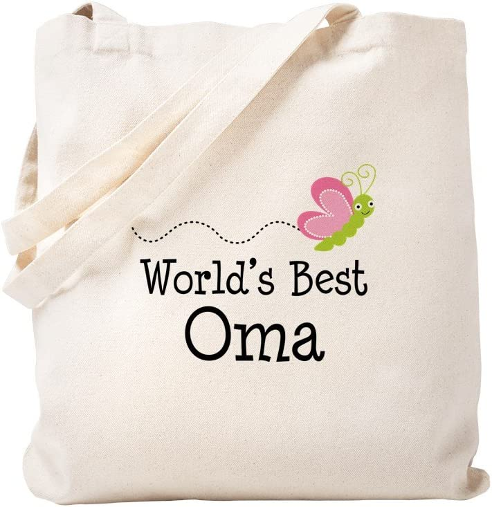 CafePress World's Best Oma Tote Reu Bag Choice Canvas Don't miss the campaign Natural
