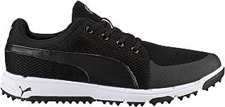 PUMA Men's Grip Sport Tech Spikeless Mesh Golf Shoe
