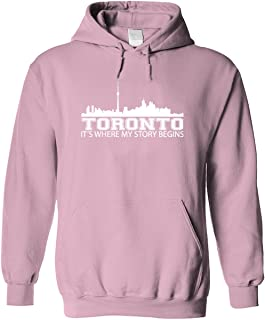 Bad Bananas Toronto (Canada), It's Where My Story Begins - Unisex Pullover Hoodie (Hooded Sweatshirt)