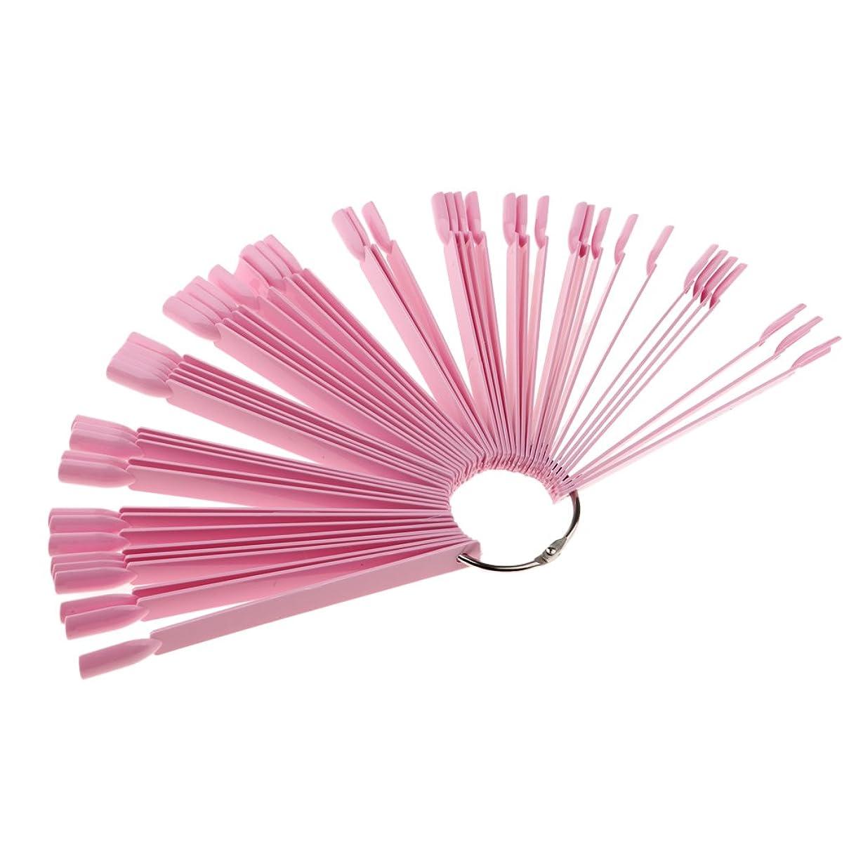 ベギン保険をかけるずるいネイルアート ヒントボード カラースティック ポリッシュ ディスプレイボード 3色選べ - ピンク