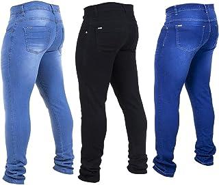 Kit 3 Calças Jeans Masculina Skinny Moderna
