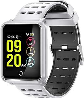 JSGJSH 2018 New Smart Bracelet N8 Smart Watch Clock Bluetooth 4.2 IP68 Waterproof SmartWatch Heart Rate Blood Pressure Sport Fitness Tracker Bracelet