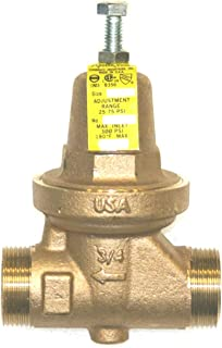 Mr Steam 104198 - Pressure reducing valve with balanced piston design has an internal thermal expansion by-pass, corrosion resistant sealed bronze body and bonnet, and an integral SS strainer.