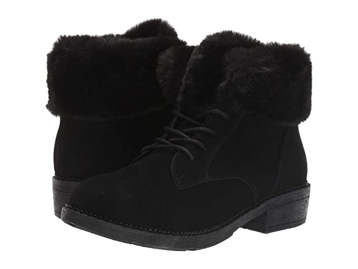 Vintage Boots, Retro Boots SKECHERS Elm BlackBlack Womens Boots $49.64 AT vintagedancer.com