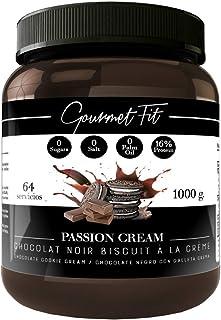 Crema de Cacao y Avellanas Hiperproteica sin Azucares ni grasas saturadas - Sin aceite de palma - formato 1KG Increíble Sabor (oreo cookies)