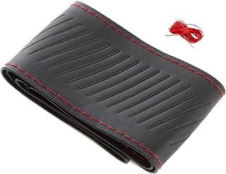جى اس دي غطاء مقود السيارة - اسود ، 37.5-38 سم