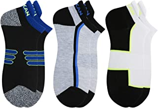 MEIKAN Running Socks No Show, Athletic Cushion Low Cut Socks for Men Women 1,3, 6 Pairs