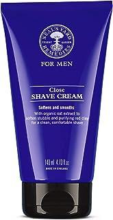 Neal's Yard Remedies Men's Close Shave Cream, 140 milliliters
