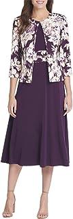 JESSICA HOWARD Womens Purple Floral Suit Wear To Work Jacket Petites US Size: 4P