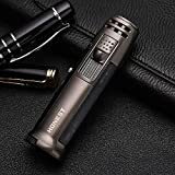 Lighter?Portable Outdoor Emergency Windproof Torch Torch Lighter Baking Barbecue Welding Flame Lock Gas Can Be Filled Gas Turbine Lighter (Without Gas)