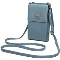 Ourbag Women Soft PU Leather Small Crossbody Cell Phone Shoulder Bag