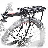 Yosmy Bicicleta Portabultos de aluminio
