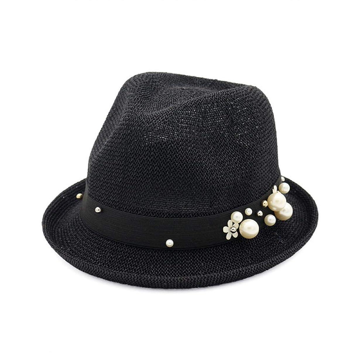 寓話変化緊張EUEMCH夏の帽子の女性の太陽の帽子の日焼け止めの 折り畳み式の夏の麦わら帽子のビーチの太陽の帽子