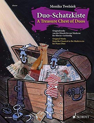 Duo-Schatzkiste: Originalwerke von der Klassik bis zur Moderne. Klavier 4-händig.
