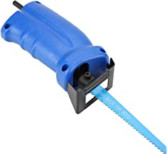 Juego de sierra eléctrica recíproca, potencia de entrada ajustable Adaptador de sierra recíproca estable, conveniente y seguro para madera de corte de metal en casa
