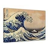 Bilderdepot24 Bild auf Leinwand | Katsushika Hokusai Die