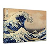Wandbild Katsushika Hokusai Die große Welle vor Kanagawa -