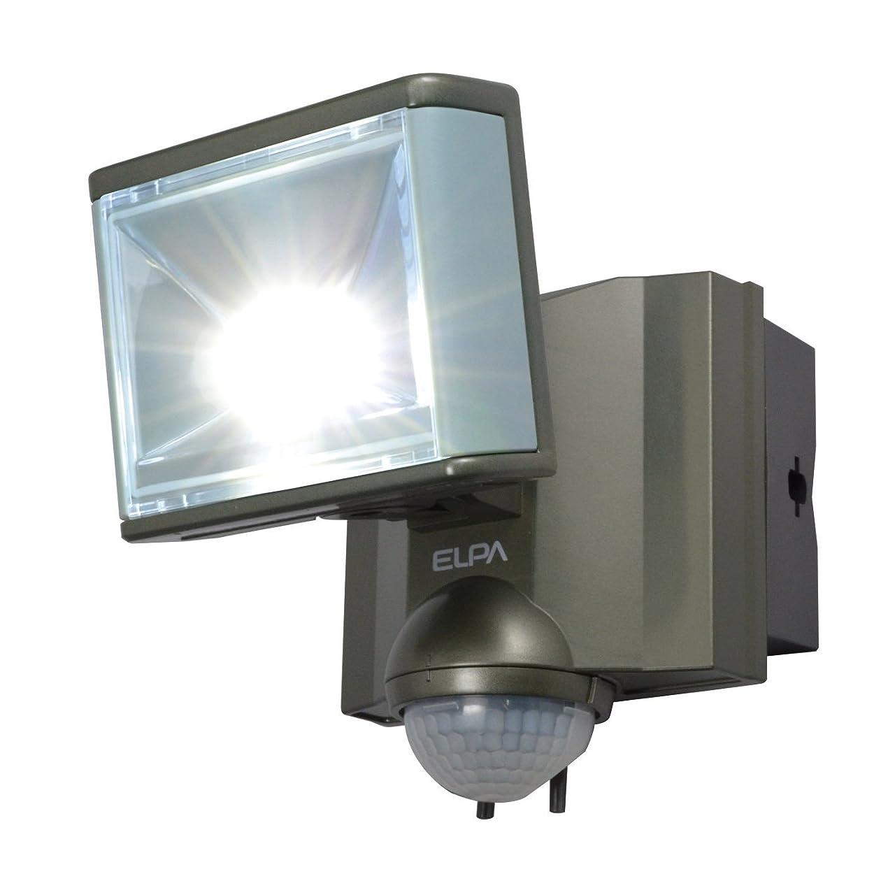 フォーマル破壊する最大ELPA 屋外用センサーライト AC電源 8wLED 1灯 ESL-801AC