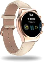 Q Fitness tracker watch/Picture as Watch face/Activity/Health/Hannspree Hanns.w (Ivory gold)
