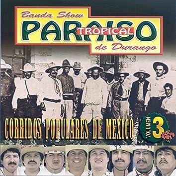 Corridos Populares de Mexico, Vol. 3